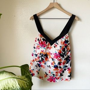 Swimsuits For All   Floral Tankini Top